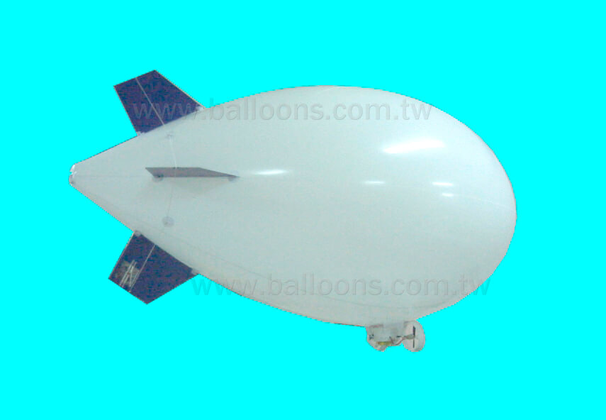 9ft long RC helium blimp with gondola小型搖控飛船包含吊艙設備