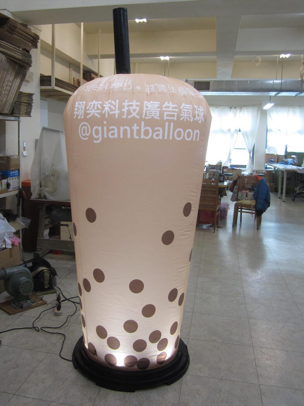 LED燈盤與杯狀氣球