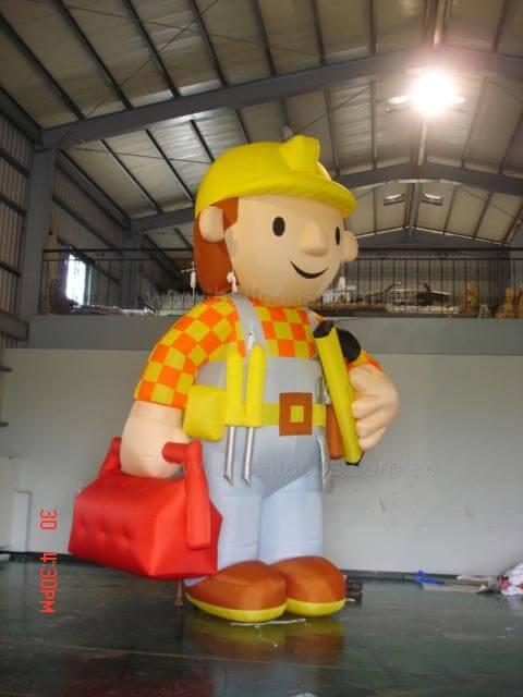 Inflatable character balloon大型客製人物造型氣球